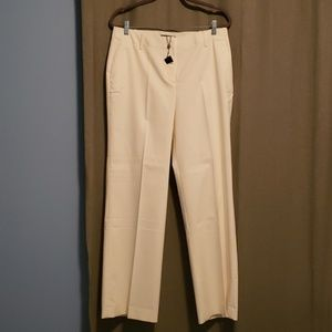 Talbots Pants Size 12 Color Cream